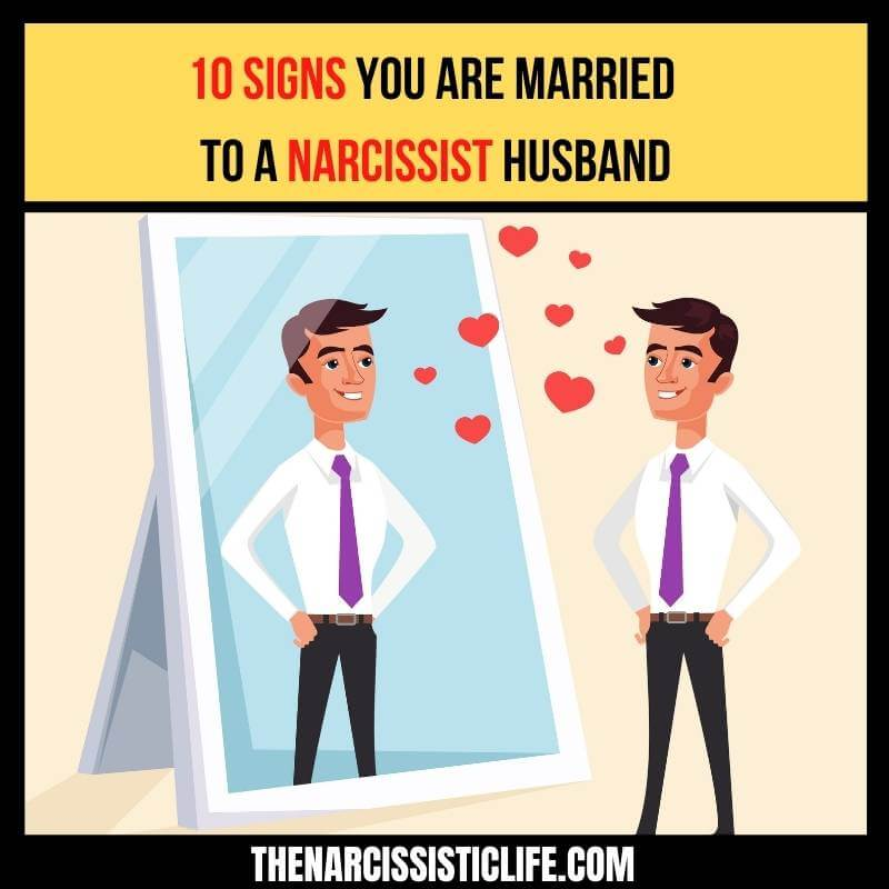 married to narcissist husband