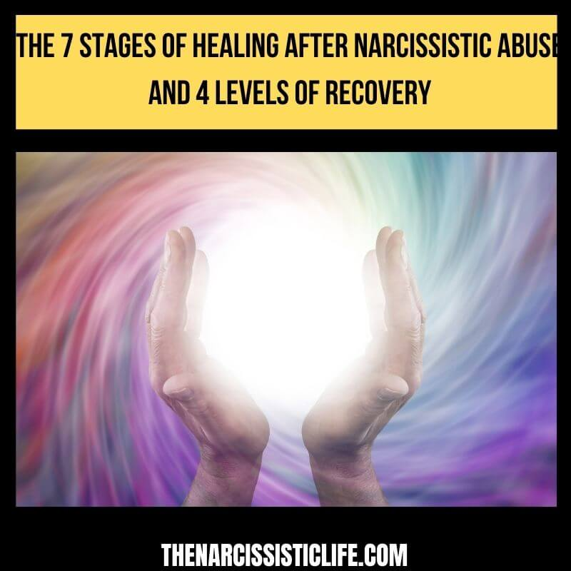 stages of healing after narcissistic abuse