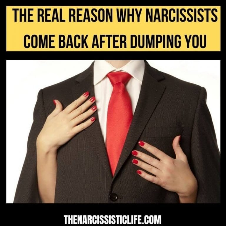 Will a Narcissist Come Back After Dumping You?