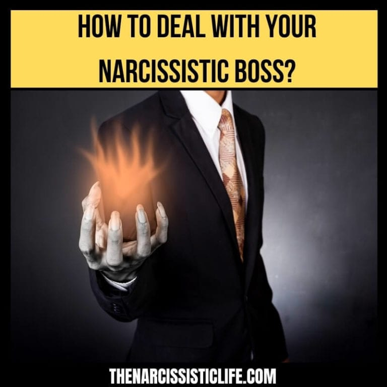 How to Deal With Your Narcissistic Boss?