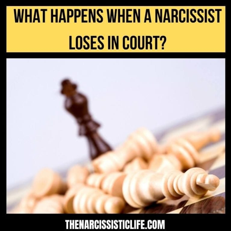 What Happens When a Narcissist Loses in Court?