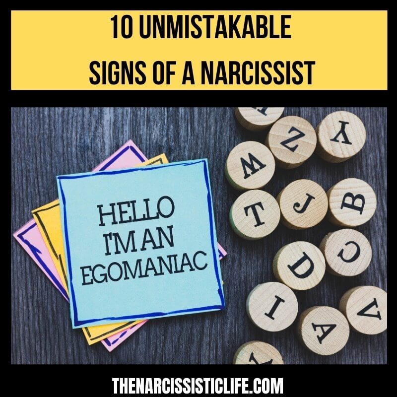 10 Signs of a Narcissist