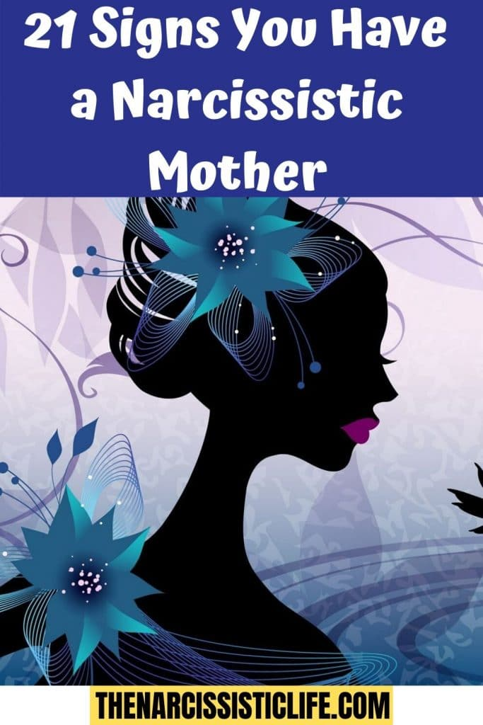 21 signs of a narcissistic mother