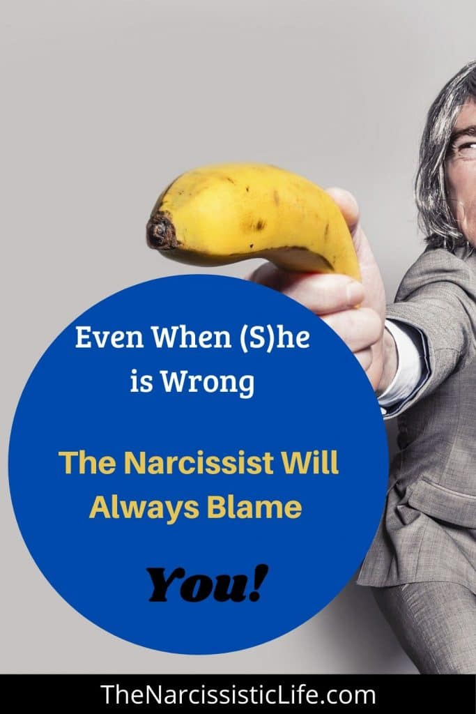 How To Deal With a Narcissistic Husband Who Blames you for Everything?