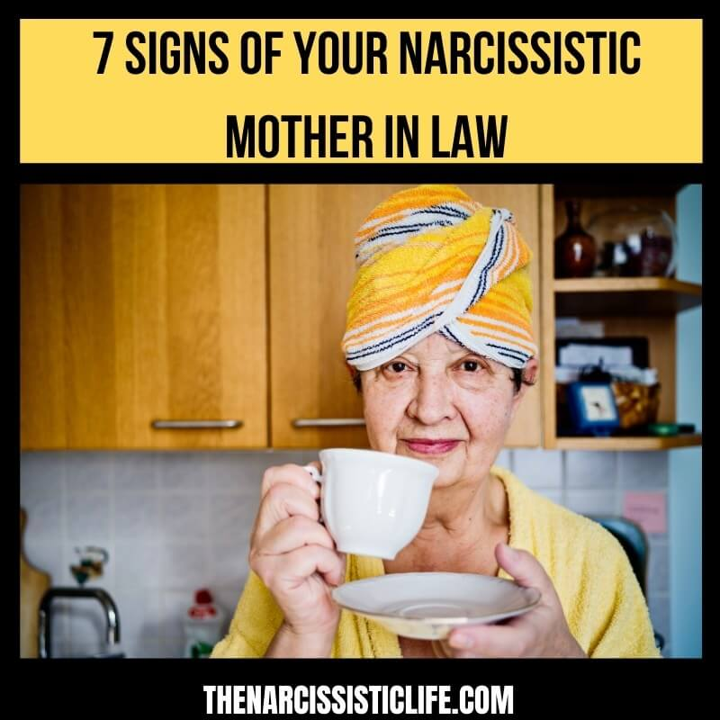 7 Traits of your narcissistic mother in law