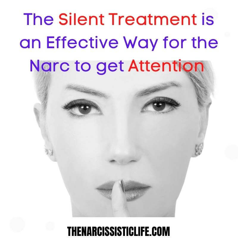 narcissist discard and silent treatment