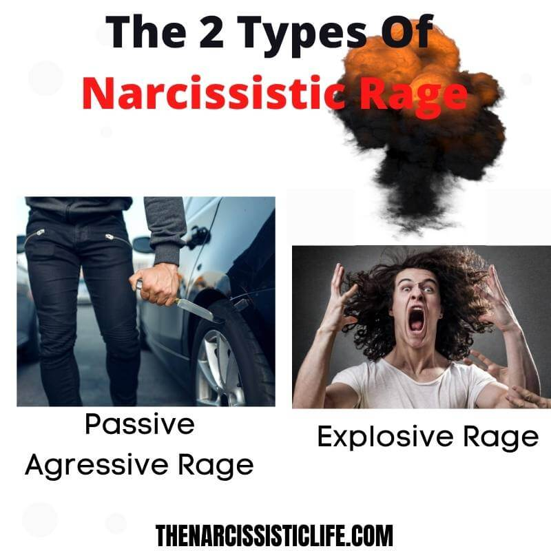 types of narcissistic rage