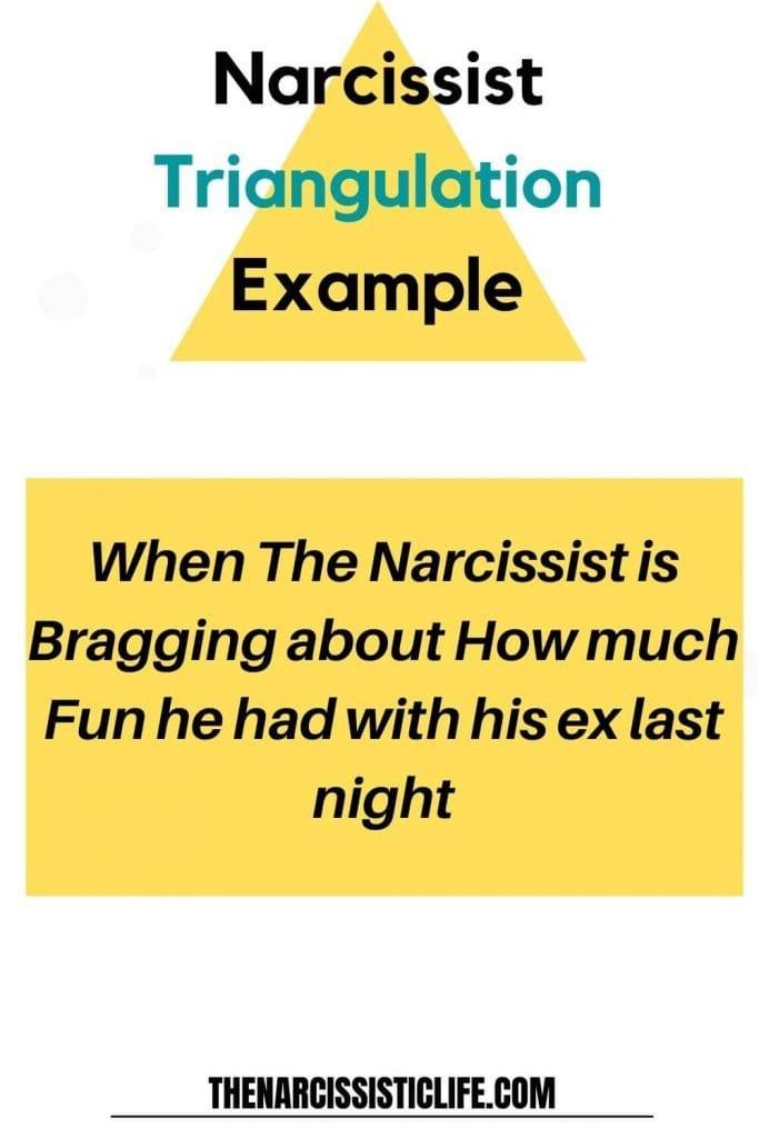 Narcissist triangulation example 1