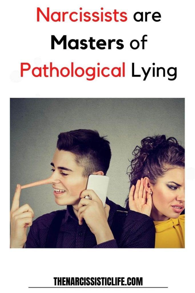 narcissists are pathological liars
