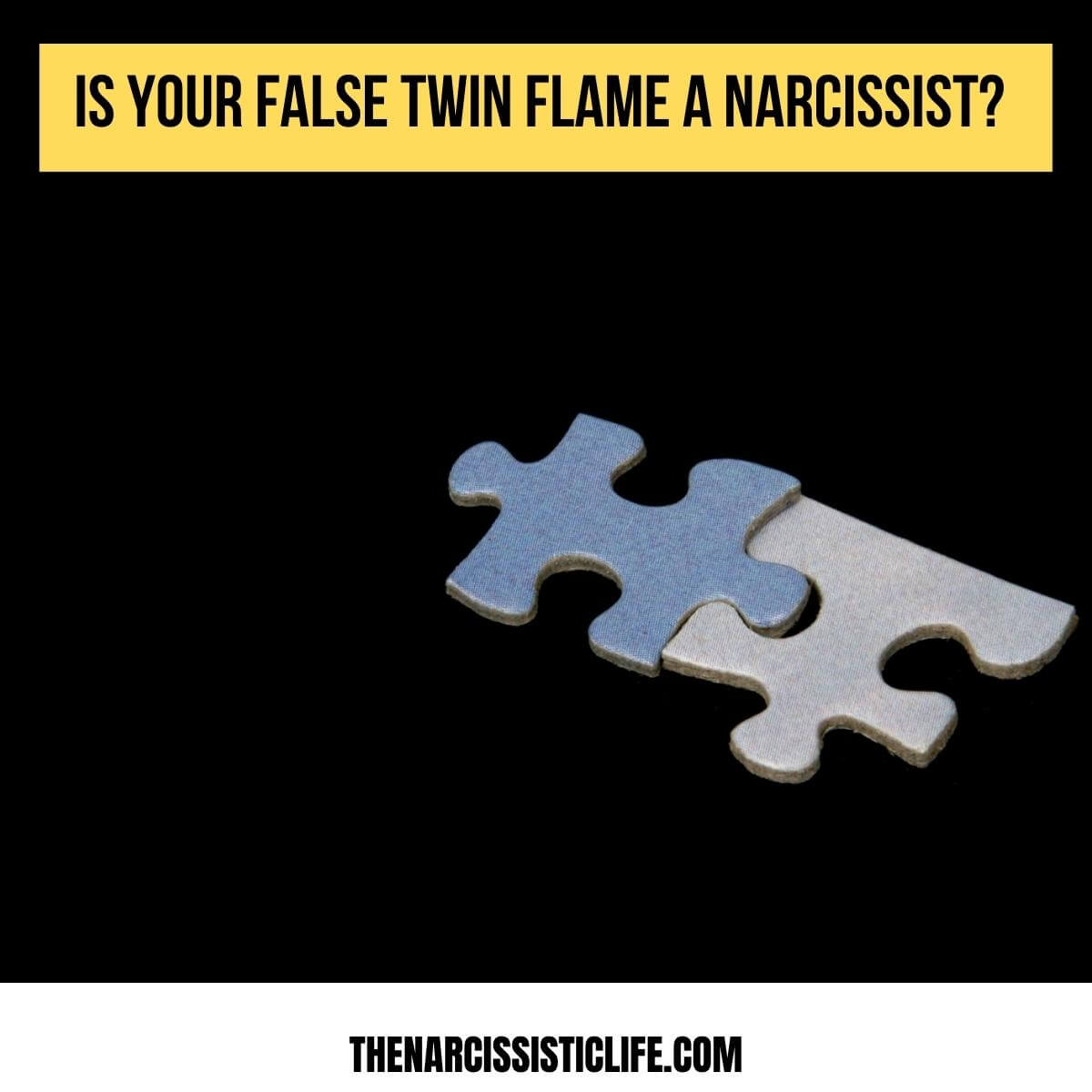 is your false twin flame a narcissist