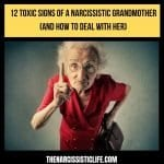 signs of a narcissistic grandmother