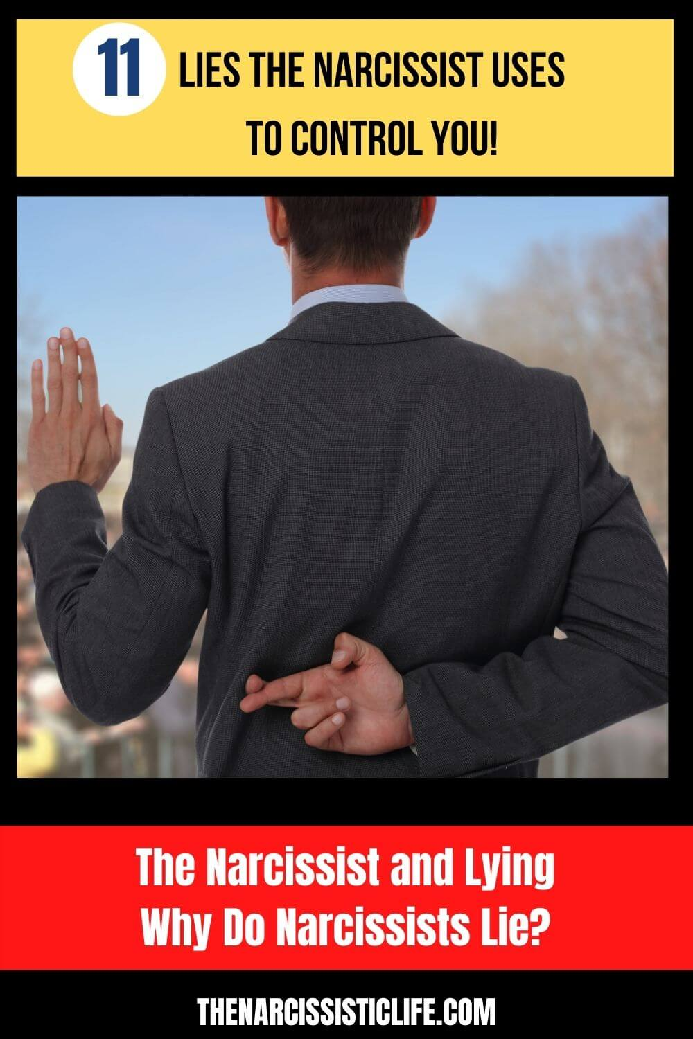 Lies The Narcissist Uses