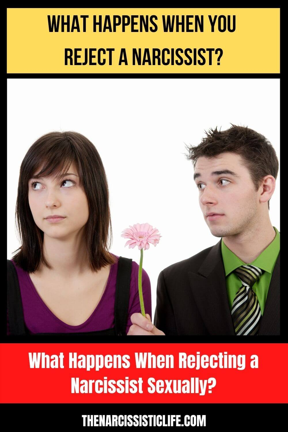 what happens when rejecting a narcissist sexually?