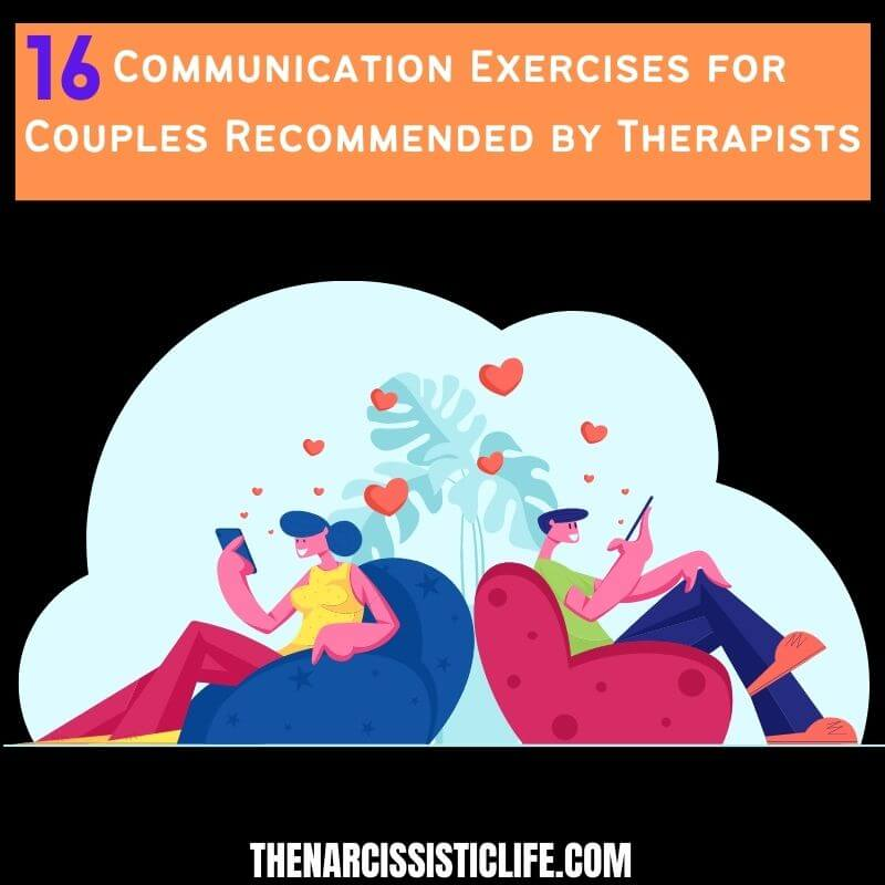 16 communication exercises for couples