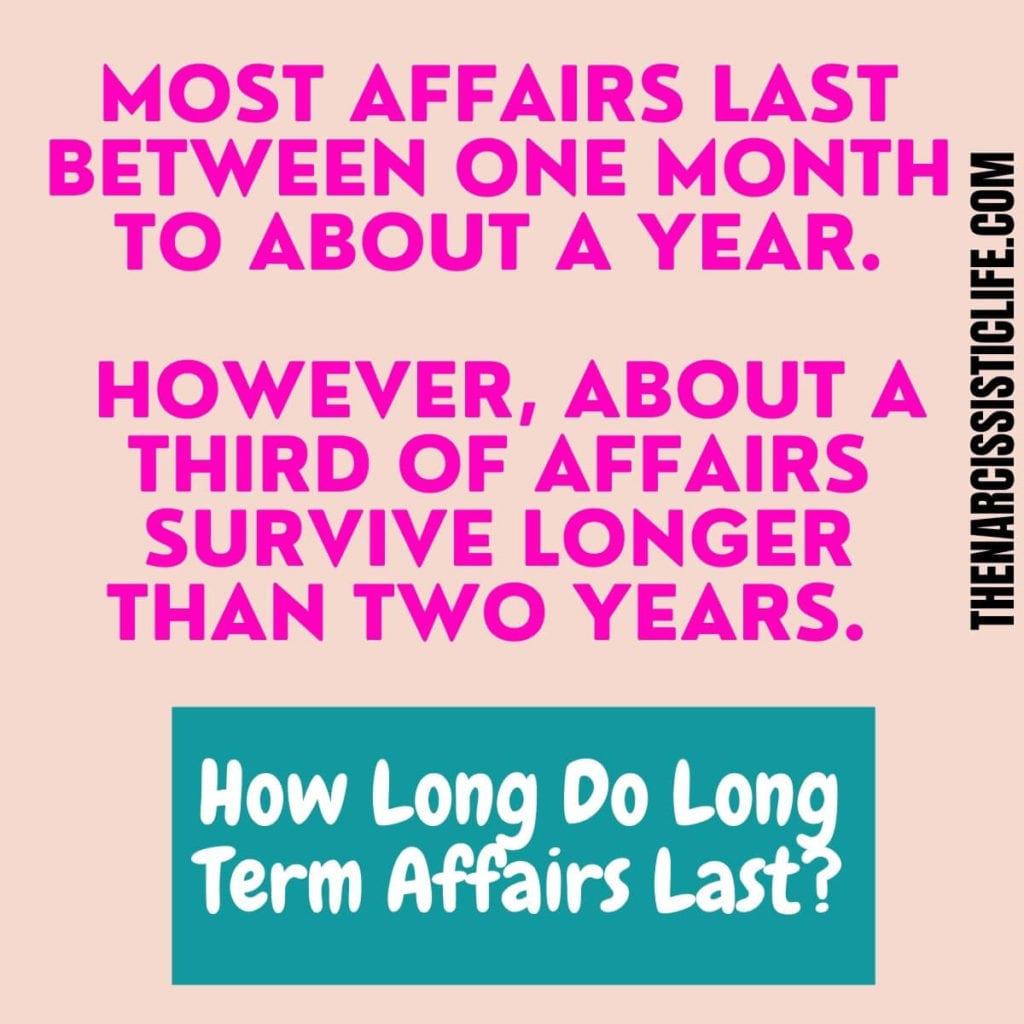How Long Do Long Term Affairs Last
