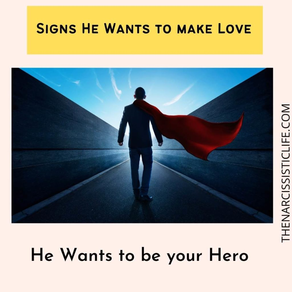 He Wants to be your Hero