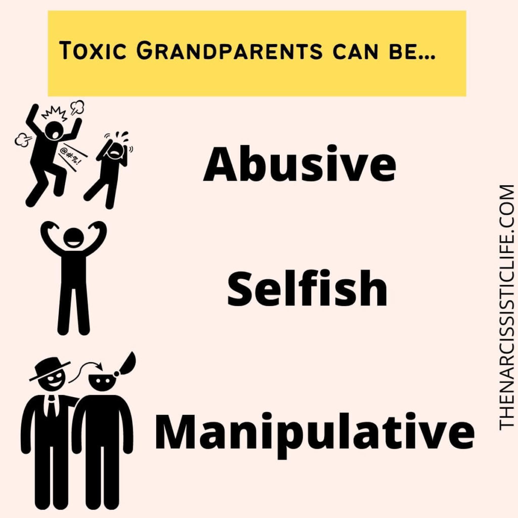 Toxic Grandparents can be problematic