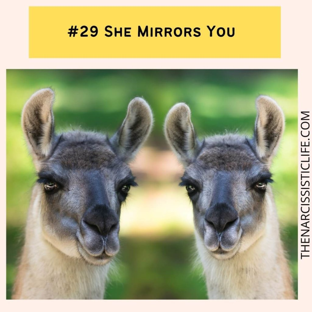 #29 She Mirrors You
