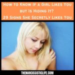 how to know if a girl likes you but is hiding it