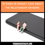 Signs He Doesn't Care About The Relationship