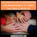 list of boundaries for grandparents