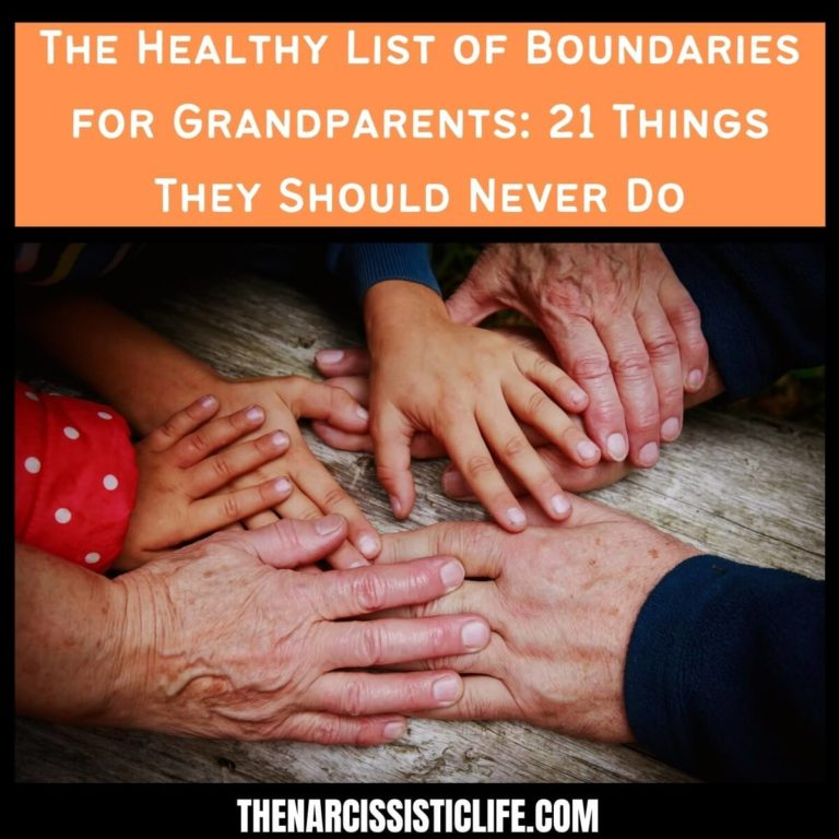 The Healthy List of Boundaries for Grandparents: 21 Things They Should Never Do